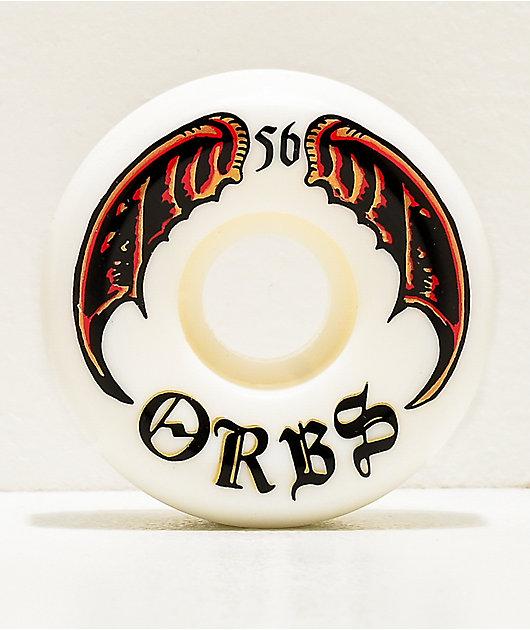 Orbs Wheels Specters White 56mm 99a Skateboard Wheels