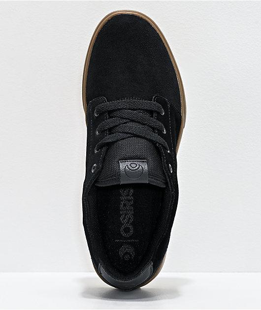 Osiris Bentley Black & Gum Skate Shoes
