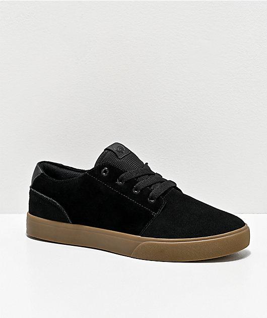 Osiris Bentley zapatos de skate en negro y goma