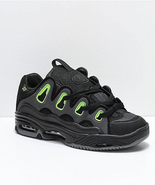 Osiris D3 2001 Black, Green \u0026 Charcoal