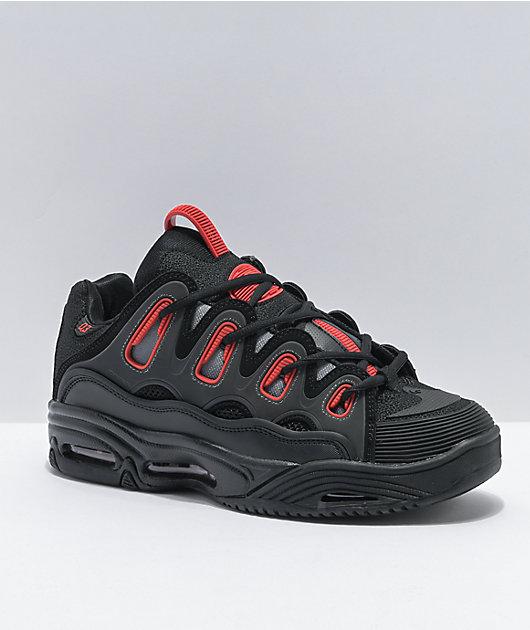 Osiris D3 2001 Black \u0026 Red Skate Shoes