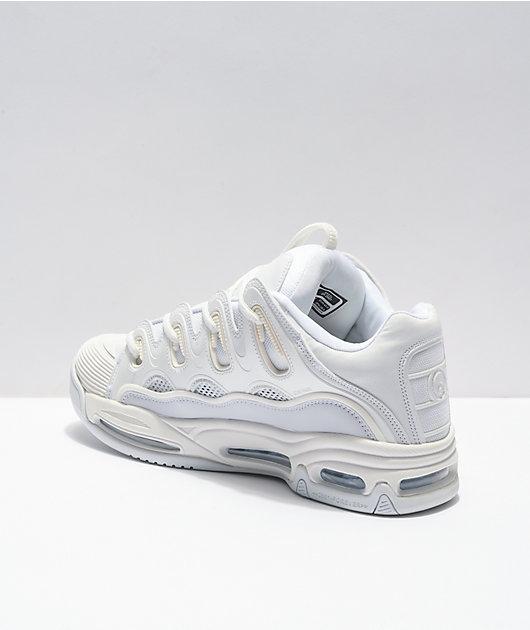 Osiris D3 2001 White Skate Shoes