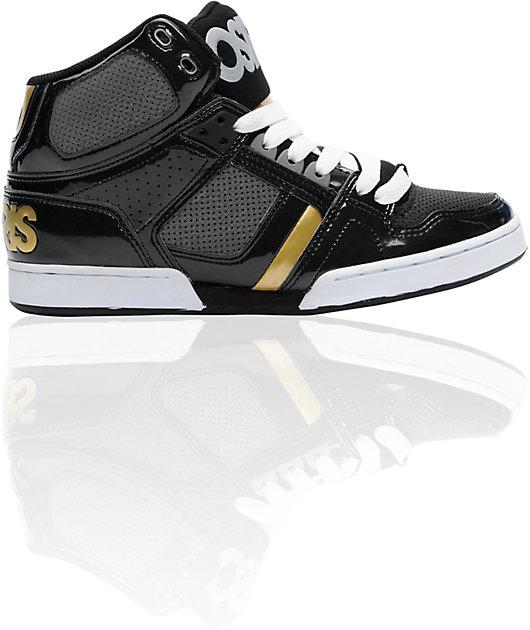 Osiris NYC 83 Black, Charcoal \u0026 Gold