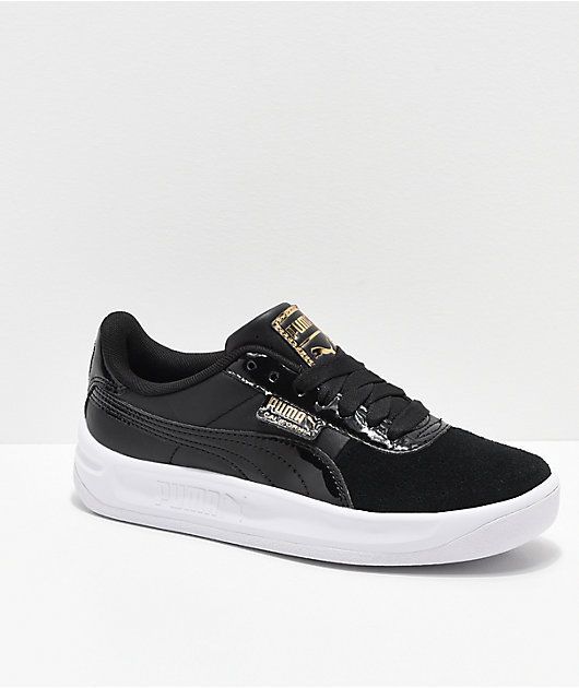 PUMA California Monochrome Black Shoes