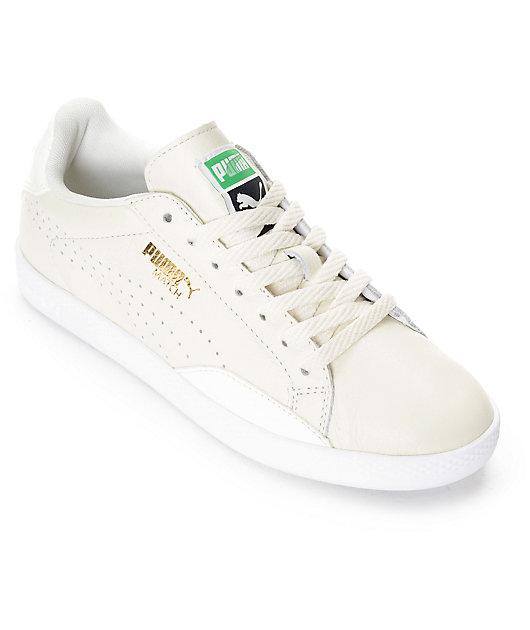 PUMA Match Lo White Shoes (Womens