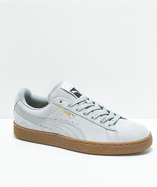 PUMA Suede Classic+ Quarry \u0026 Gum Shoes