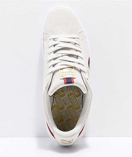 PUMA Suede Classic Sport Stripes White