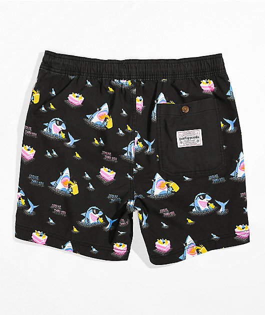 Party Pants Cooler Than You Black Board Shorts