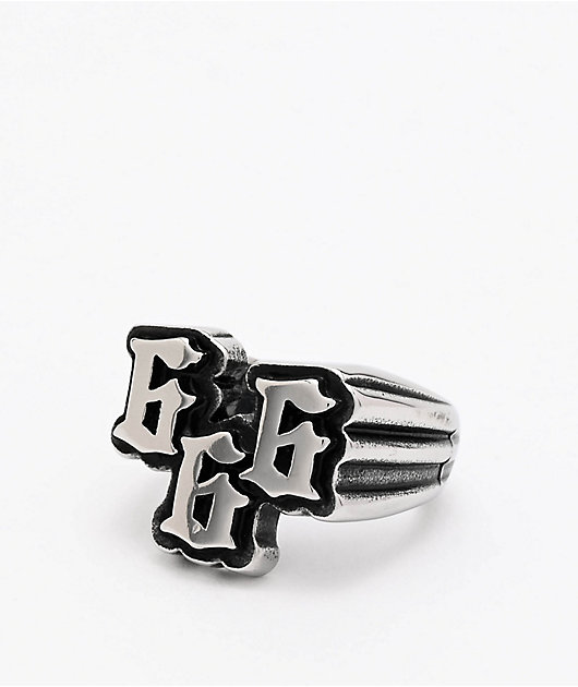 Personal Fears 666 Stainless Steel Ring