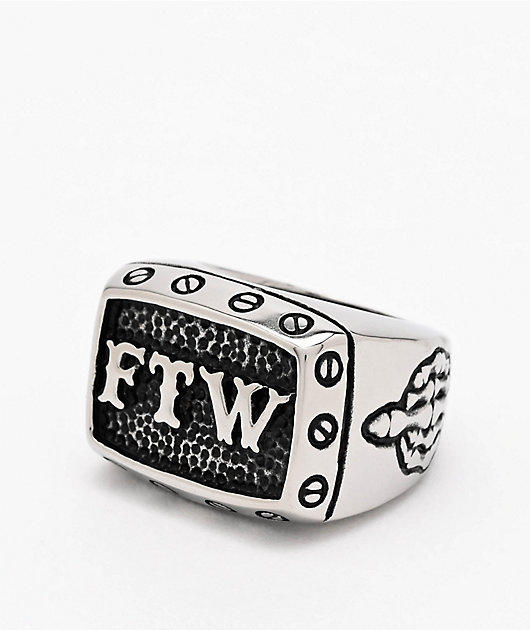 Personal Fears FTW Stainless Steel Ring