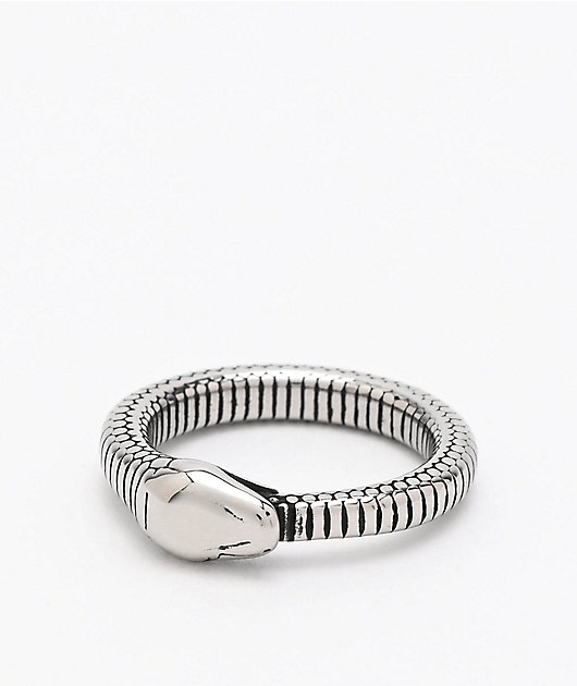 Personal Fears Snake Ouroboros Stainless Steel Ring