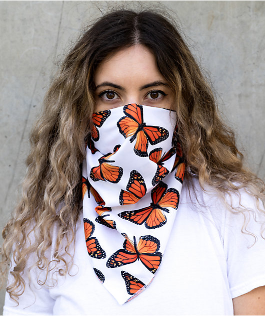 Petals and Peacocks Butterfly Effect Bandana