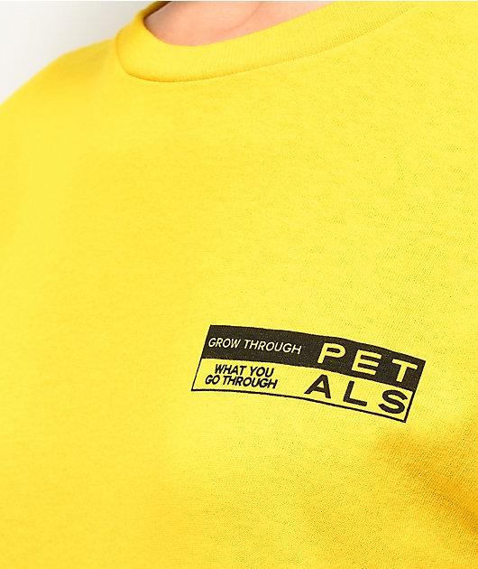Petals by Petals & Peacocks Daisy camiseta amarilla