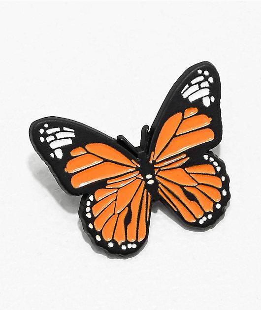 Petals by Petals & Peacocks Monarch Enamel Pin