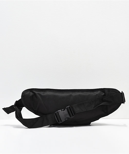 Petals by Petals and Peacocks Barbed Rose Black Fanny Pack