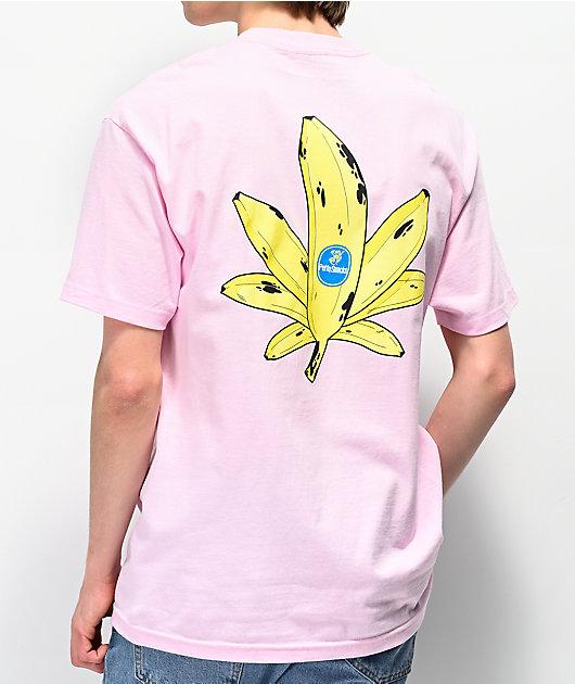 Petty Snacks Sweet Leaf Pink T-Shirt