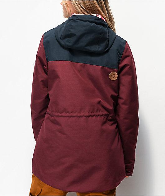Picture Organic Kate Burgundy 10K Snowboard Jacket