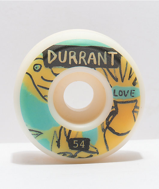 Picture x Marty Baptist Durrant 54mm 101a Skateboard Wheels