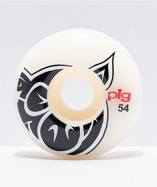 Pig 54mm 101a Natural Skateboard Wheels