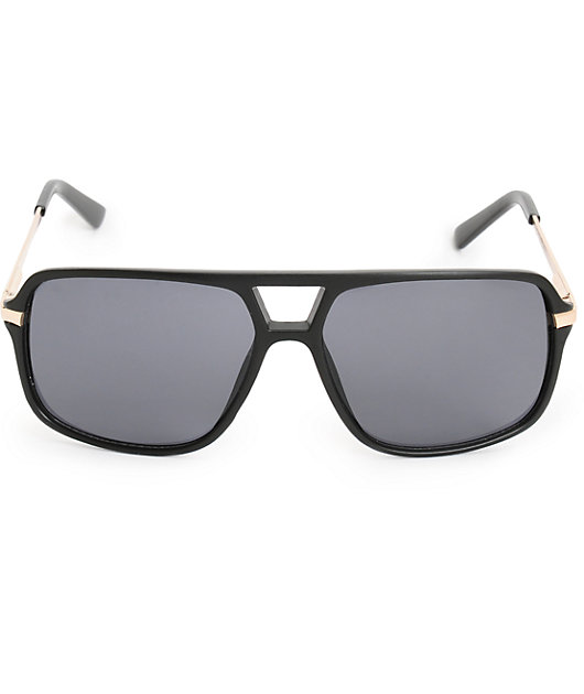 Pitbull gafas de sol de aviador de plástico