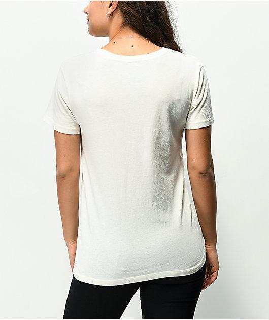 Powerpuff Checkered Off-White Pigment Dyed T-Shirt