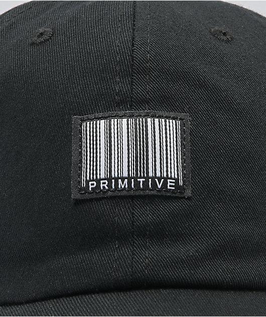 Primitive Black Pack Code Black Strapback Hat