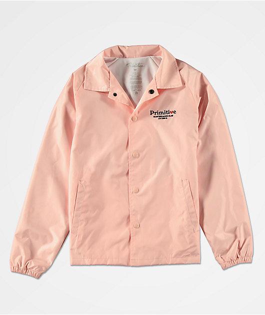 Primitive Boys Cupid Pink Coaches Jacket