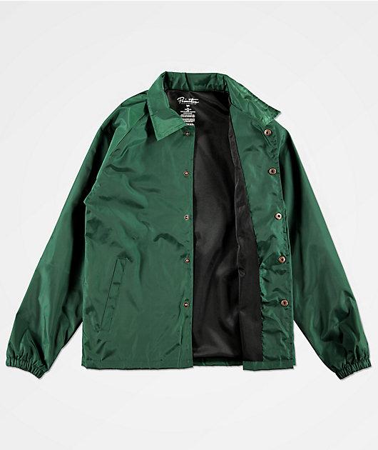 Primitive Boys Ginza Green Coaches Jacket