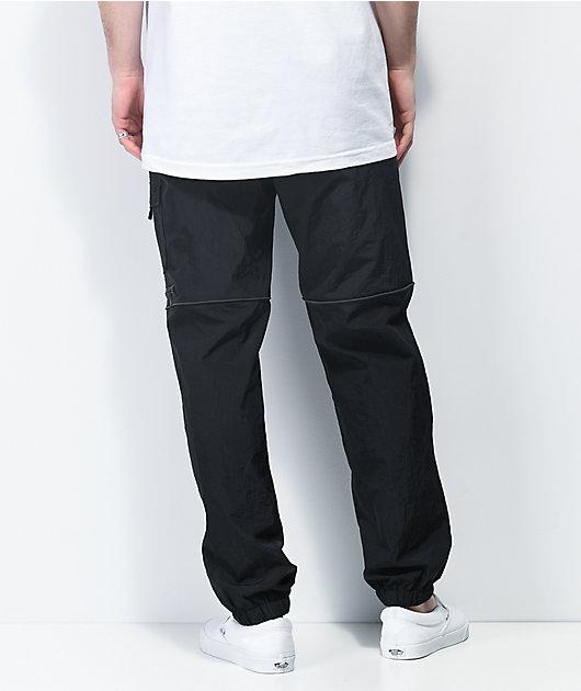 Primitive Clinton Black Track Pants