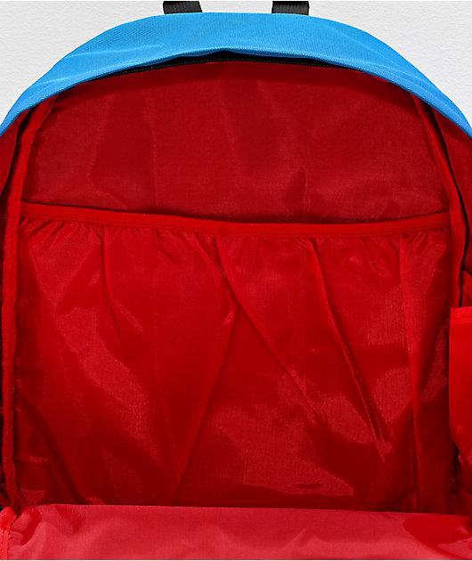 Primitive Collegiate Arch Homeroom Black & Red Backpack
