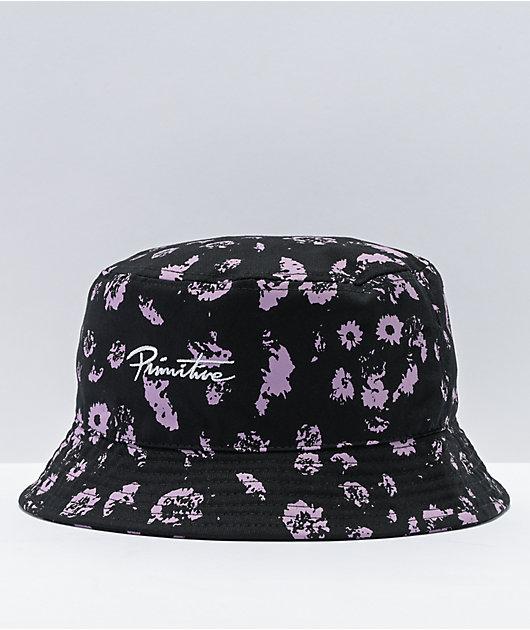 Primitive Devotion Black & Purple Bucket Hat