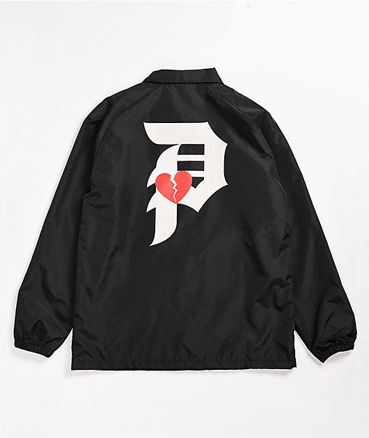 Primitive Dirty P Amore Black Coaches Jacket