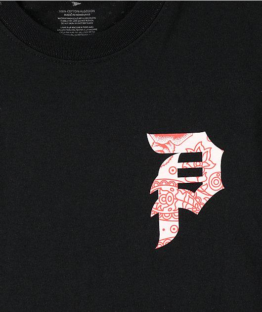 Primitive Dirty P Paisley Black T-Shirt