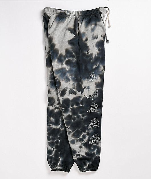 Primitive Dynasty Black Tie Dye Sweatpants
