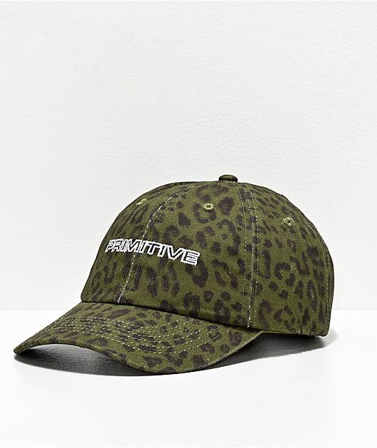Primitive Expedition Forest Green Strapback Hat