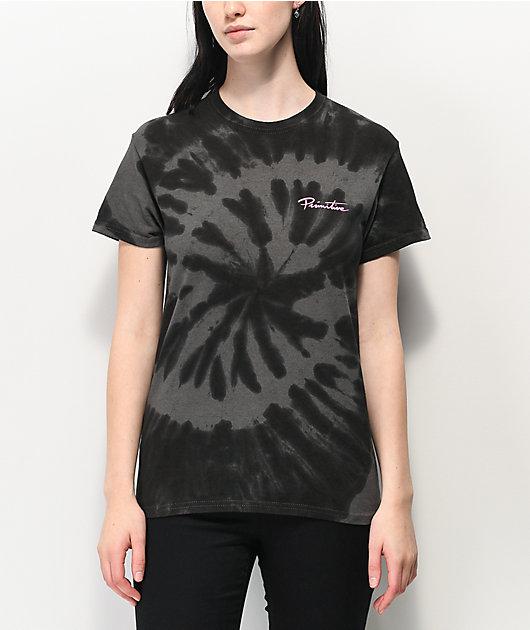 Primitive Gateway Black Tie Dye T-Shirt
