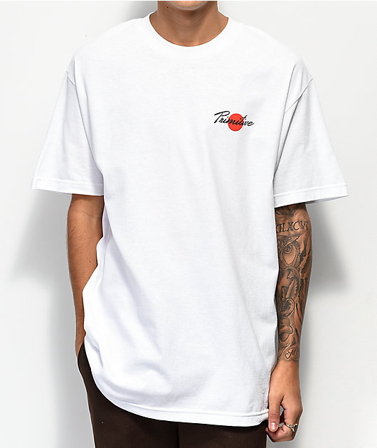 Primitive Ginza White T-Shirt