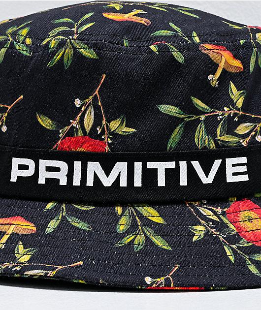 Primitive Horticulture Black Bucket Hat