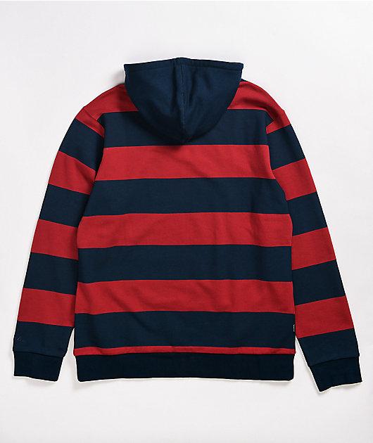 Primitive Jackson Navy & Red Stripe Hoodie