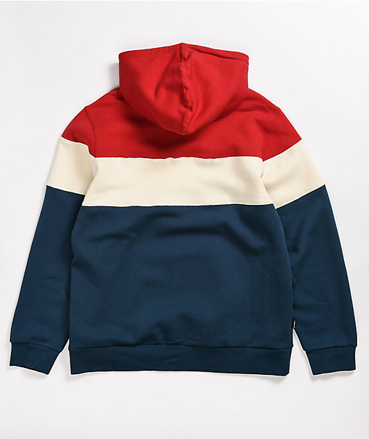 Primitive Levels Red, White & Blue Hoodie