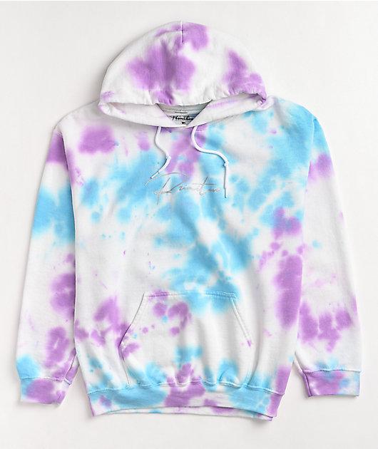 Primitive Meta Blue & Purple Tie Dye Hoodie
