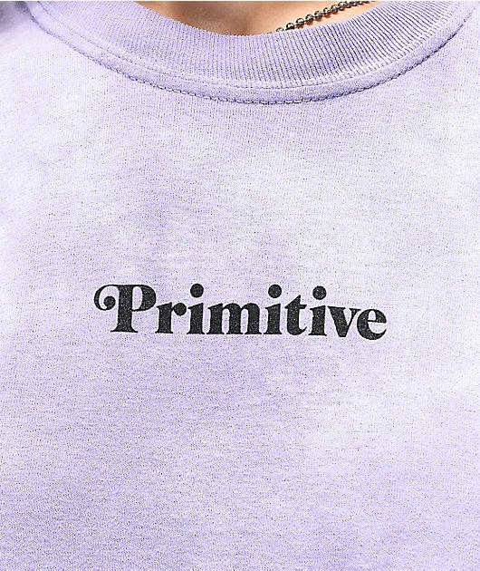 Primitive Natural Lavender Tie Dye T-Shirt