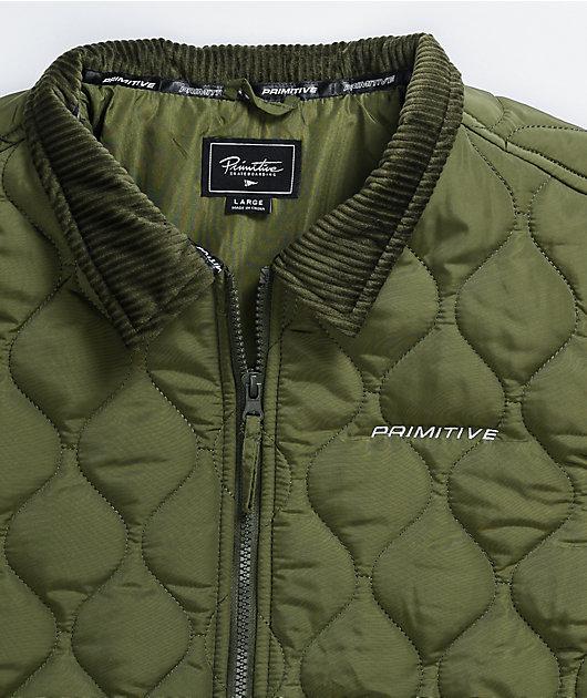 Primitive Newman Olive Puffer Jacket