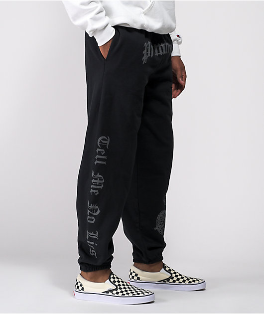 Primitive No Lies Black Sweatpants