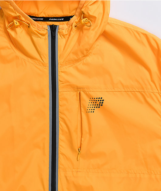 Primitive Paris Yellow Windbreaker Jacket