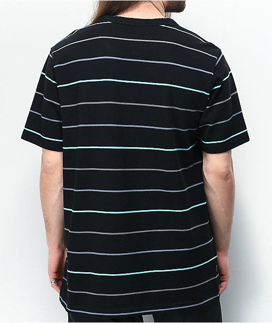 Primitive Pique Washed Black Stripe T-Shirt