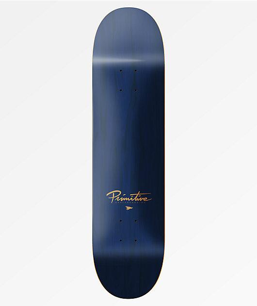 8.50 Primitive Rodriguez Tuxedo Mask Skateboard Deck Black
