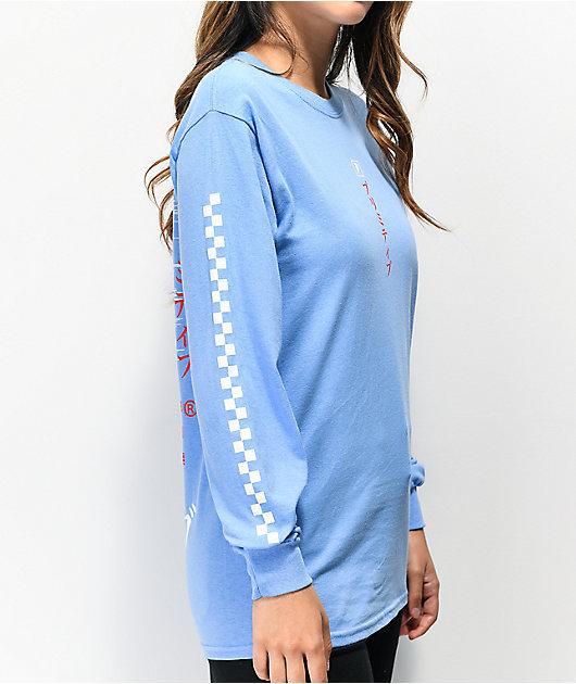 Primitive Samurai Slate Blue Long Sleeve T-Shirt