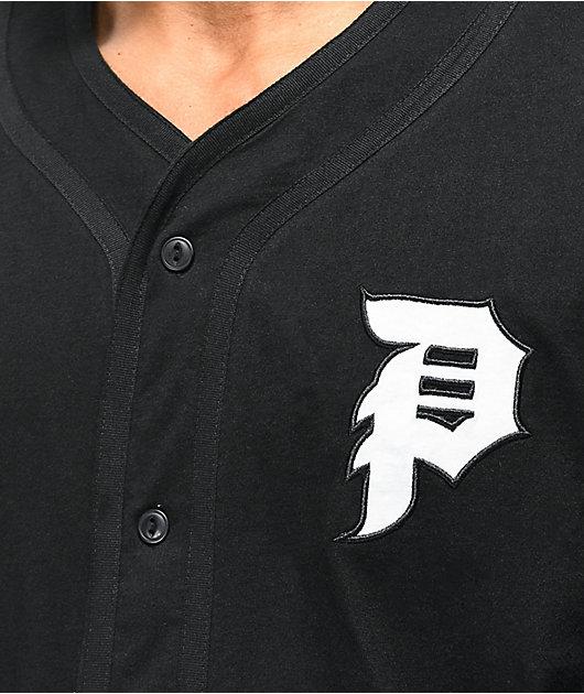 Primitive Tokyo Champion Black Baseball Jersey