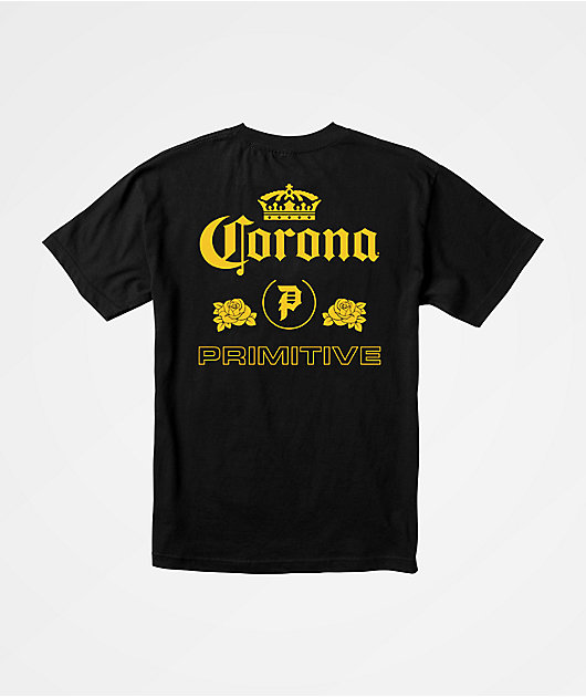 Primitive x Corona Heritage Black T-Shirt